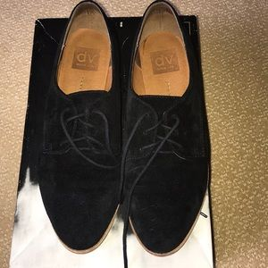 DOLCE VITA Black And Pink Oxfords